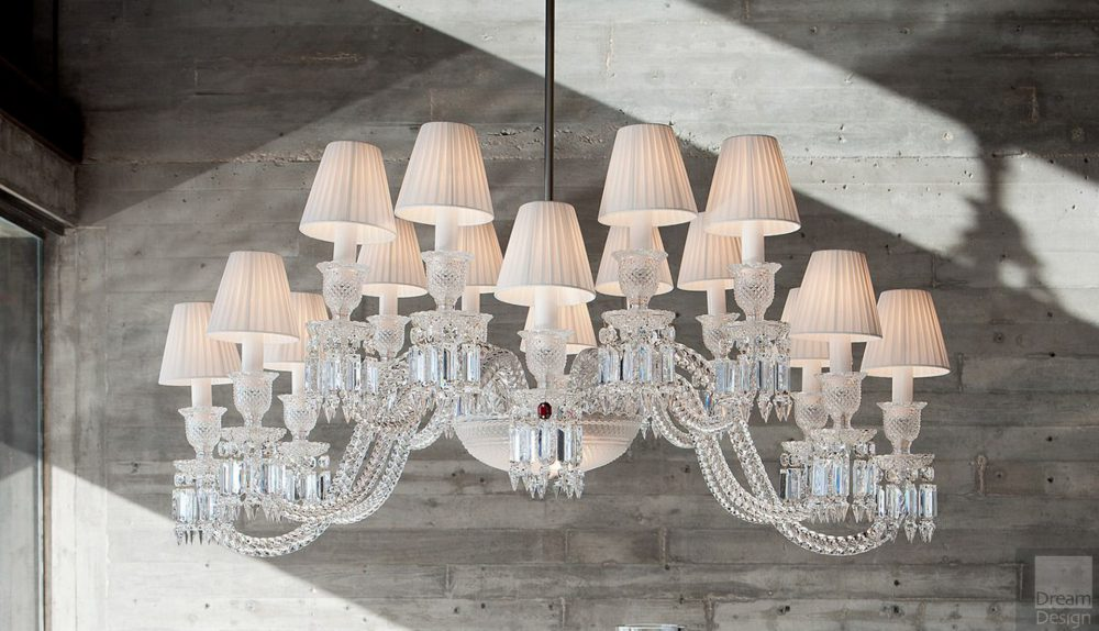 Baccarat Ellipse Chandelier (16 Lights)