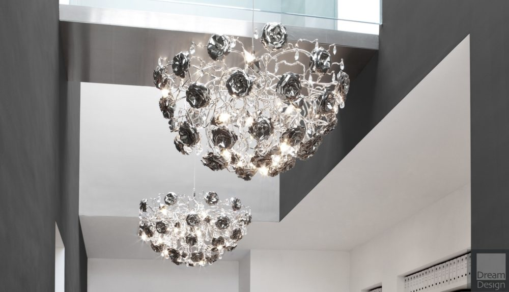 Brand Van Egmond Love You Love You Not Chandelier