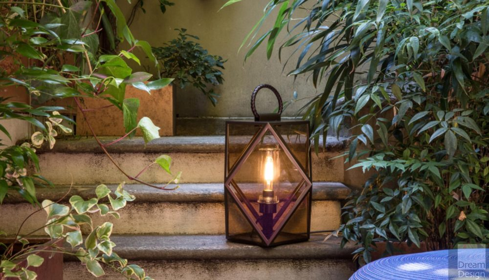 Contardi Muse Floor Lantern Outdoor