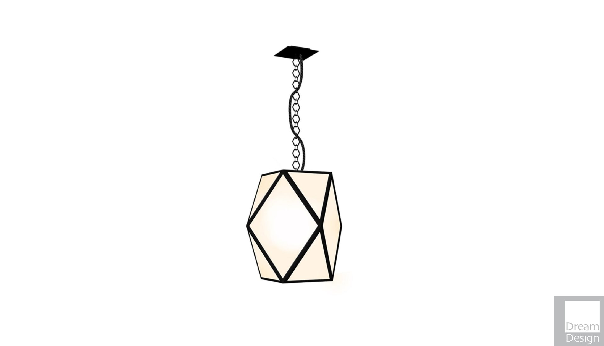 Contardi Muse Lantern Pendant Light