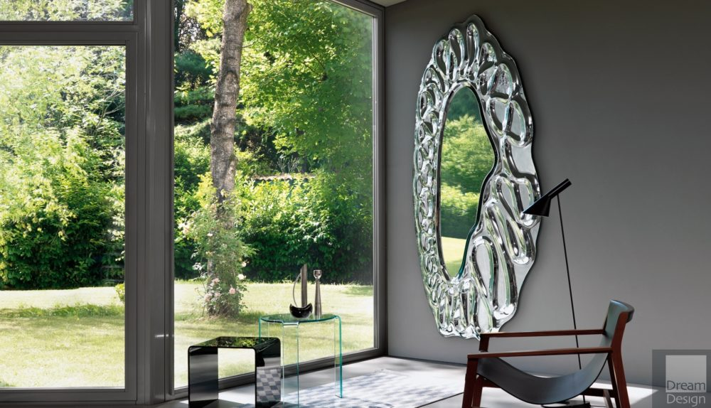 Fiam Caldeira Elliptical Mirror