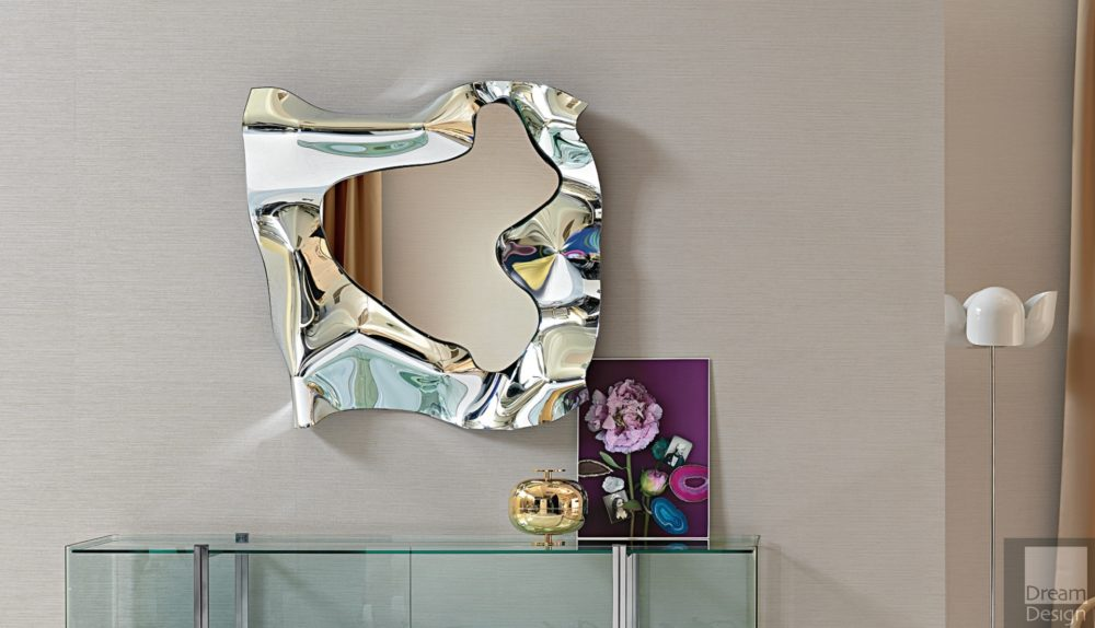 Fiam Christine Square Mirror