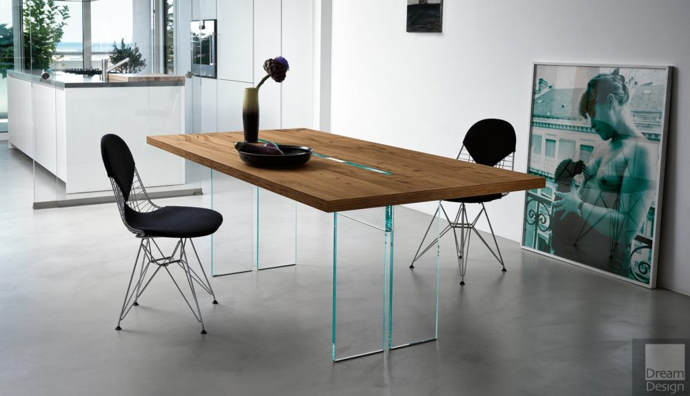Fiam LLT Wood Table