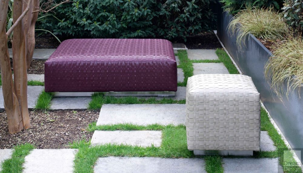 Flexform Bangkok Outdoor Ottoman