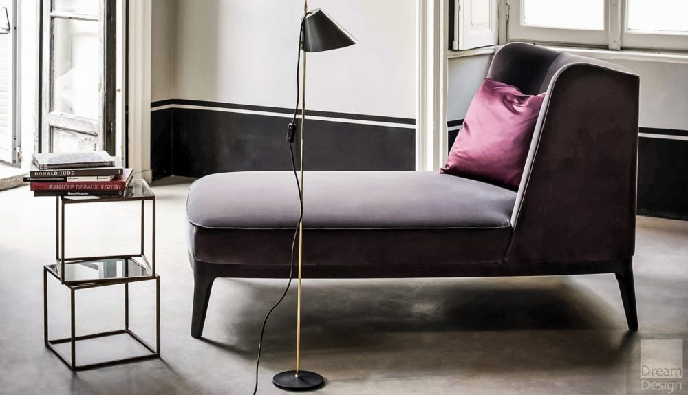Flexform Mood Dragonfly Chaise Longue
