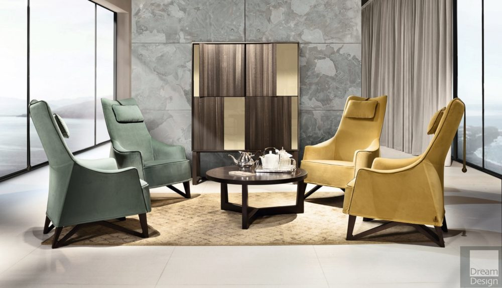 Giorgetti Mobius Armchair