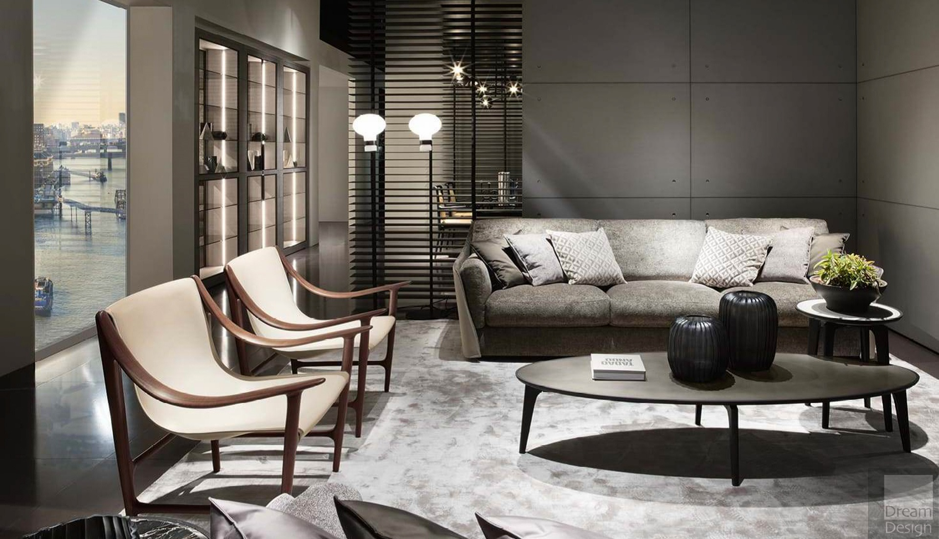 Giorgetti Vittoria Sofa Dream Design Interiors Ltd