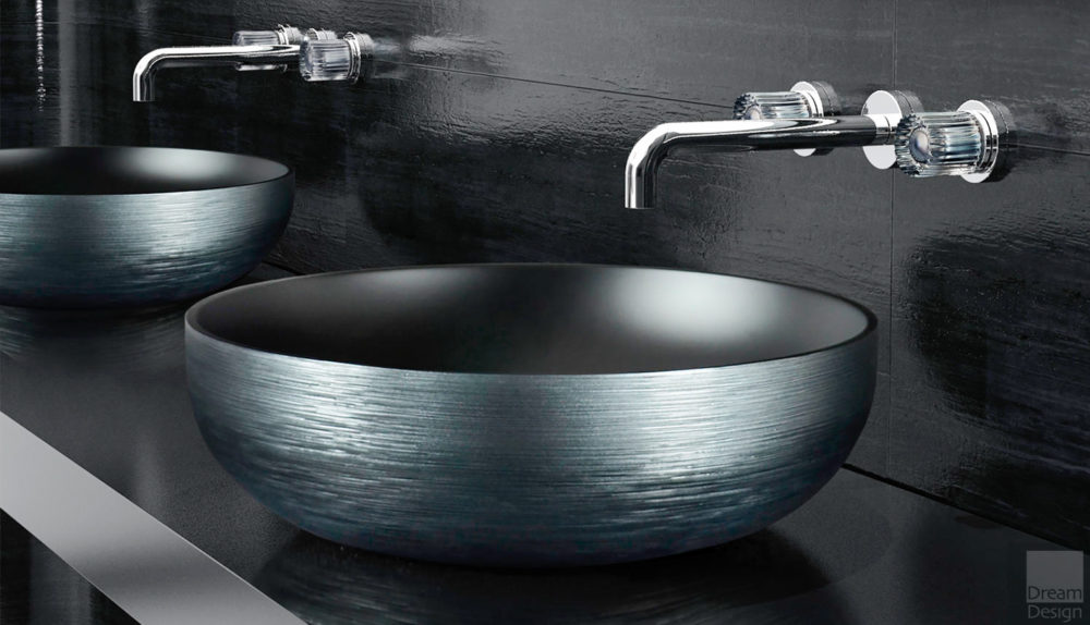 Glass Design Collina Metropole Basin
