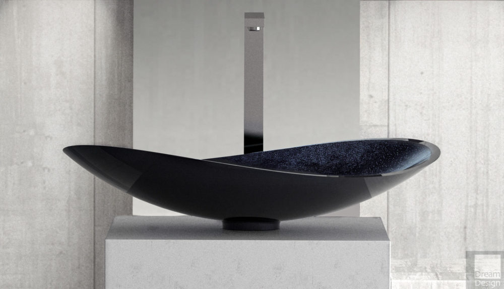 Glass Design Infinity Starlight Basin