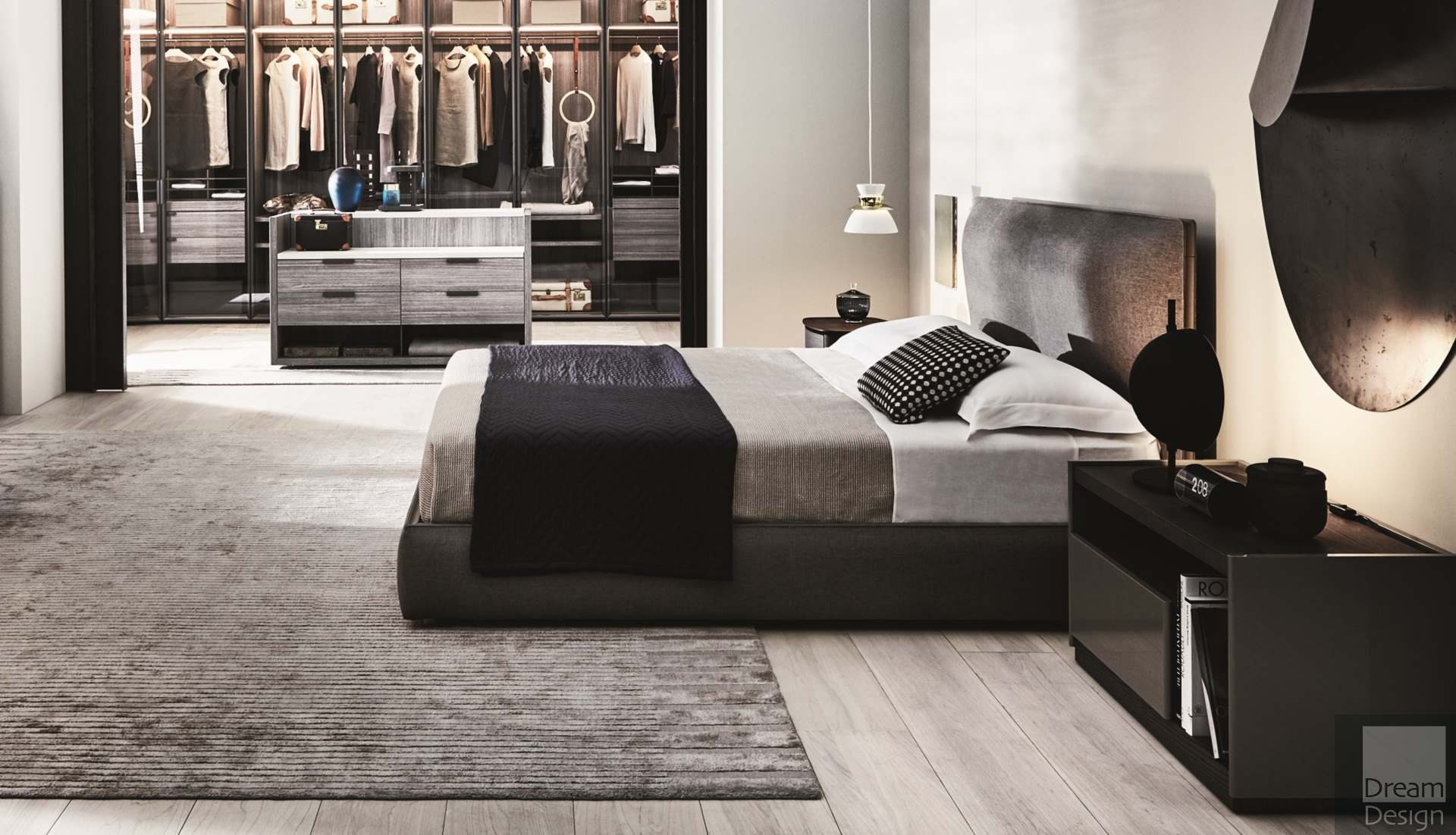 Molteni&C Ribbon Bed