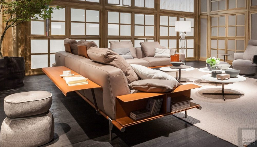 Poltrona Frau Let It Be Modular Sofa