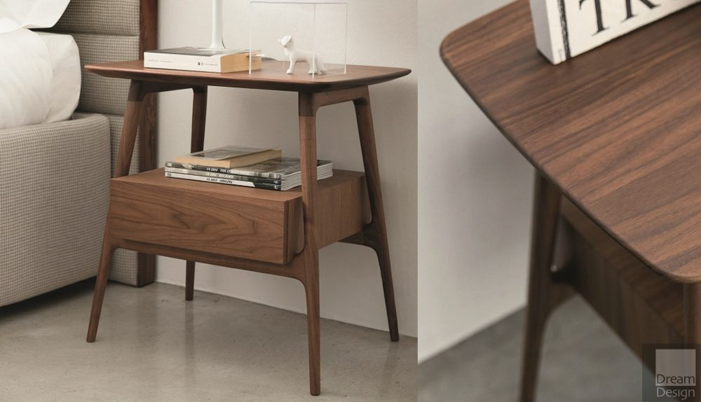 Porada Bilot Bedside Table