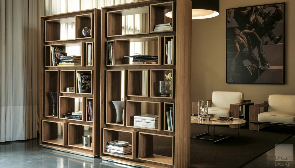 Porada First Book Shelving