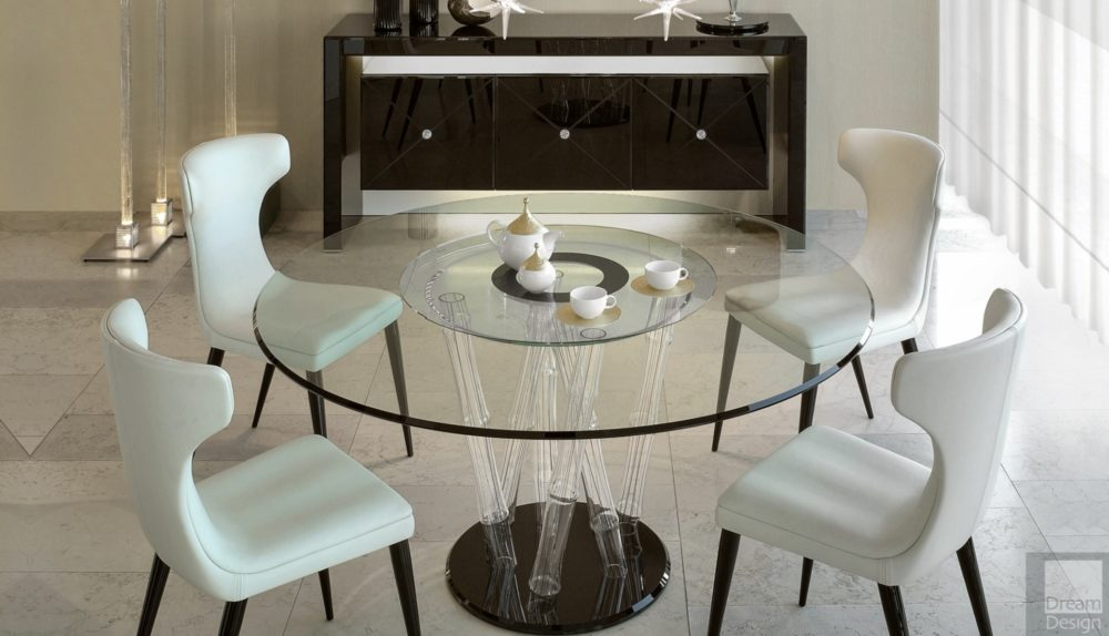 Reflex Angelo Bamboo 72 Round Table